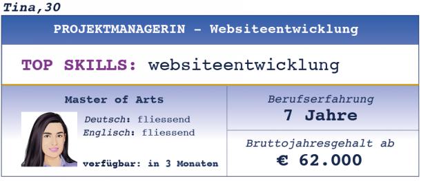 Projektmanagerin Websiteentwicklung