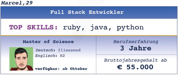 Full Stack Entwickler