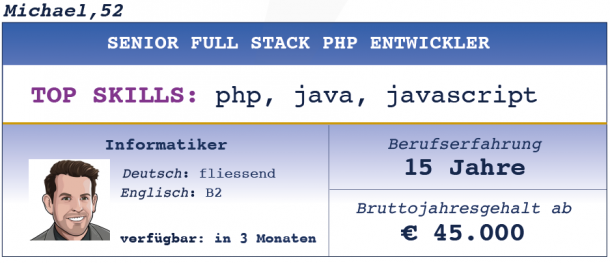 Senior Full Stack PHP Entwickler