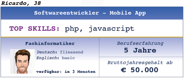 Softwareentwickler Mobile App